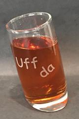 Uff Da Shot Glass