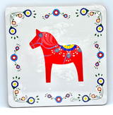 Dala Horse Cork Board Trivet