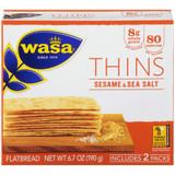Wasa Sesame & Sea Salt Thins Crackers