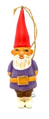 The Pensive Gnome Ornament