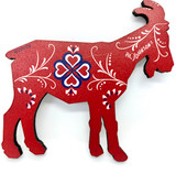Al Johnson's Norway Red Goat Magnet