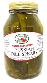 Weinke's Market Russian Dill Pickle Spears