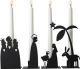 Ljusstake Nativity Candle Holders
