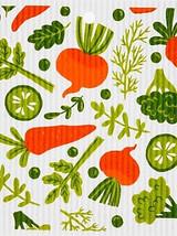 Mixed Vegetables Swedish Dishcloth