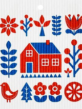 Swedish Lake House Swedish Dishcloth