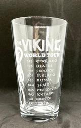 Viking World Tour Pint Glass