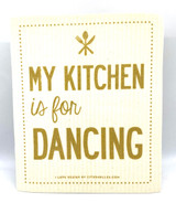 Kitchen Dancing Swedish Dishcloth
