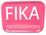 Pink Fika Birch Serving Tray