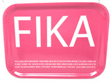 Pink Fika Birch Serving Tray