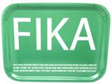 Green Fika Birch serving Tray