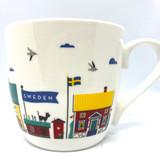 Swedish Buildings Mug