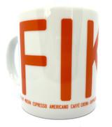 Fika Coffee Mug (orange)