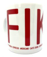 Fika Coffee Mug (red)