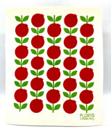 Lingonberry Swedish Dishcloth