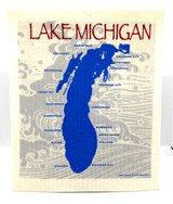 Lake Michigan Swedish Dishcloth