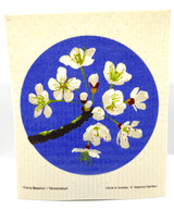 Cherry Blossom Swedish Dishcloth
