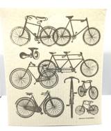 Bicycles Swedish Dishcloth