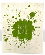 Uff Da Spill Swedish Dishcloth