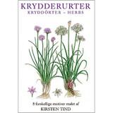 Krydderurter Danish Art Notecards