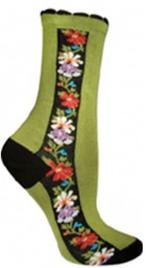 Ozone Nordic Stripe Socks (green)