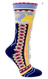 Ozone Dala Horse Socks (navy)