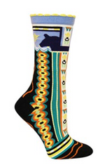 Ozone Dala Horse Socks (black)