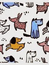 Playful Dogs Swedish Dishcloth