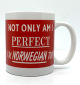 Perfect and Norwegian Coffee Mug
