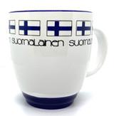 Finnish Flag Bistro Mug