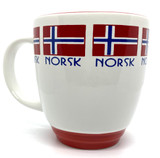 Norwegian Flag Bistro Mug