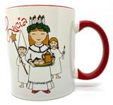 Lucia, Star boy, & Attendant Coffee Mug