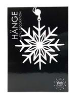 White Metal Snowflake Ornament
