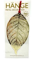 Gold Leaf Ornament