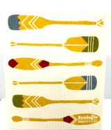 Nordic Paddle Swedish Dishcloth