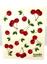 Bunch of Cherries Swedish Dishcloth