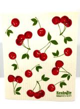 Bunch of Cherries Swedish Dishcloth