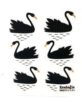 Black Swan Swedish Dishcloth