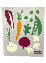 Veggies Swedish Dishcloth
