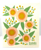 Flower Swedish Dishcloth