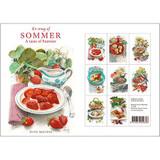 A Taste of Sommer Danish Art Notecards