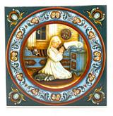 Norwegian Bedtime Prayer Tile