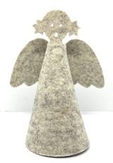 Gray Felt Guardian Angel