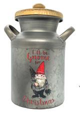 Gnome Milk Can