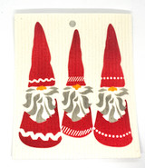 Trio of Tomten Swedish Dishcloth
