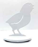 Metal Chick (white)