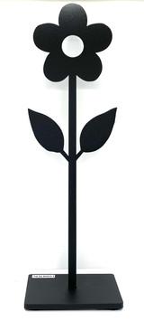 Metal Flower (black)