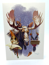 Moose Swing Card