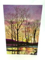 Winter Sunset Card