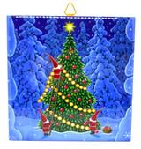 Tomtar Christmas Tree Tile