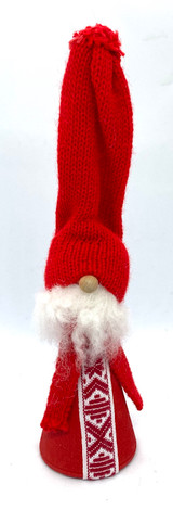 Tall Hat Tomte with Scarf